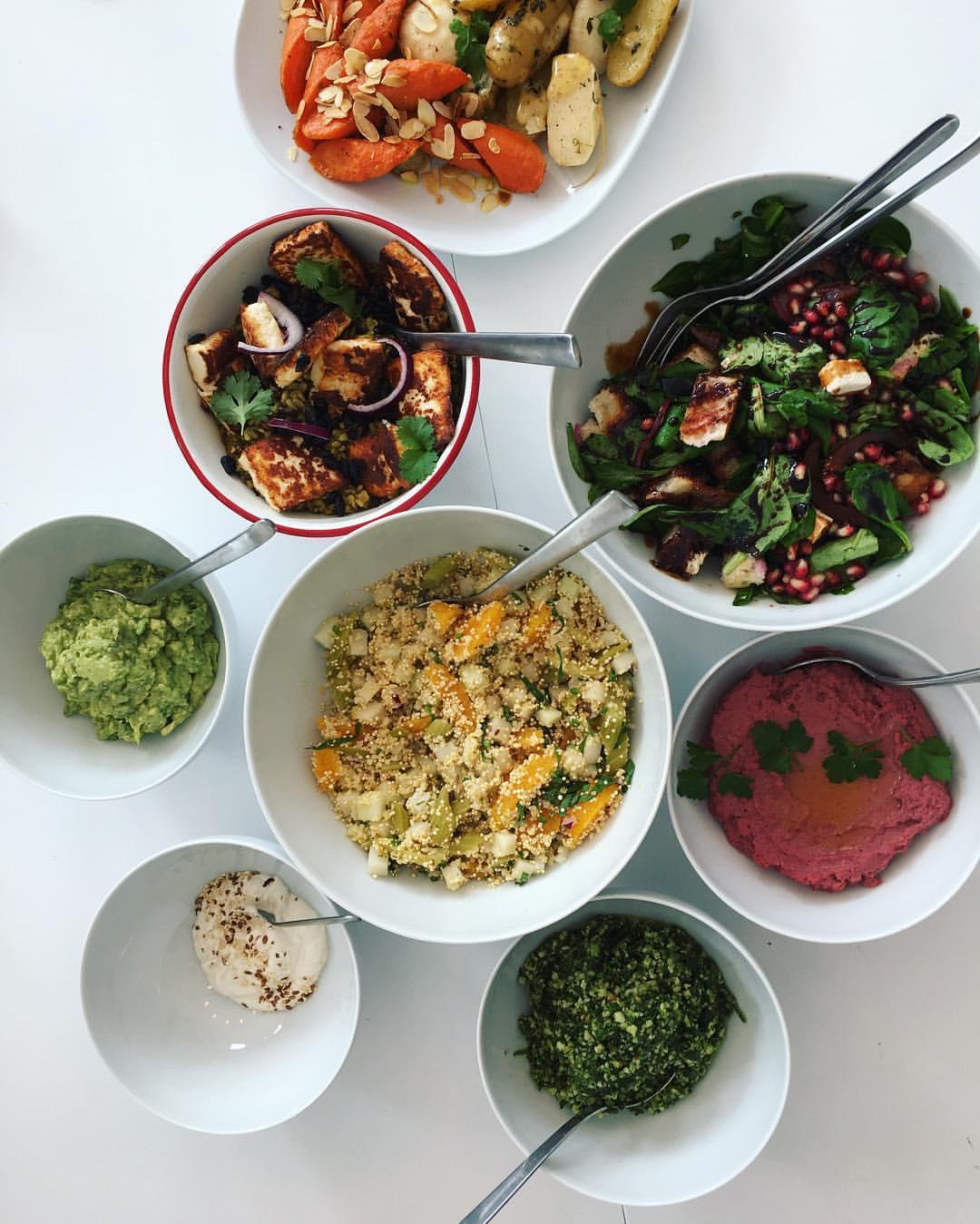 Veggie Lunch Buffet
